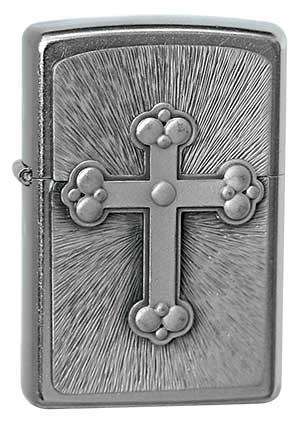 ヨーロッパ直輸入Zippo ジッポー Gothic Cross 1300081