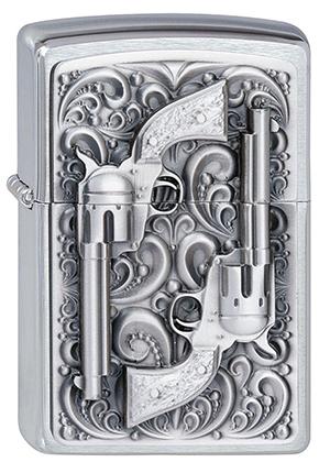ヨーロッパ直輸入Zippo ジッポー Revolver 2001654 メール便可
