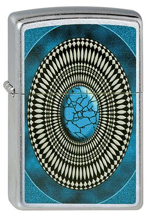 ヨーロッパ直輸入Zippo ジッポー Turquoise Design 2002785