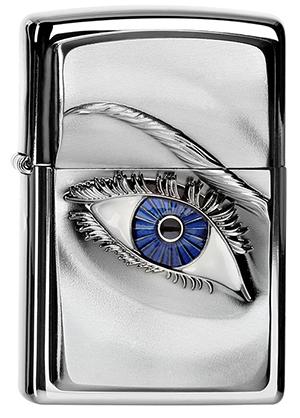 ヨーロッパ直輸入Zippo ジッポー Woman Eye 2004303