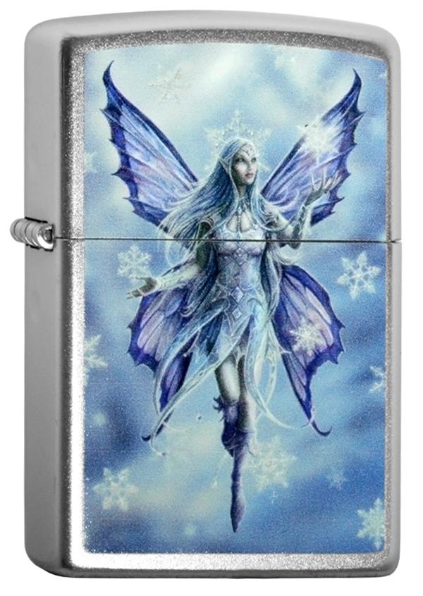 ヨーロッパ直輸入Zippo ジッポー Anne Stokes- Snow Fairy 2004142