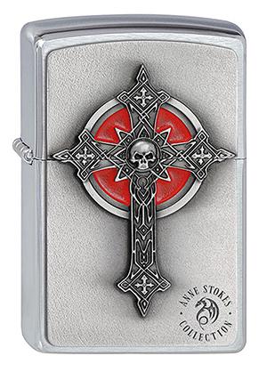 ヨーロッパ直輸入Zippo ジッポー Gothic Cross 1300080