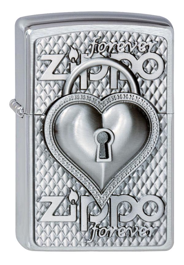 ヨーロッパ直輸入Zippo ジッポー Heart Forever 2002732