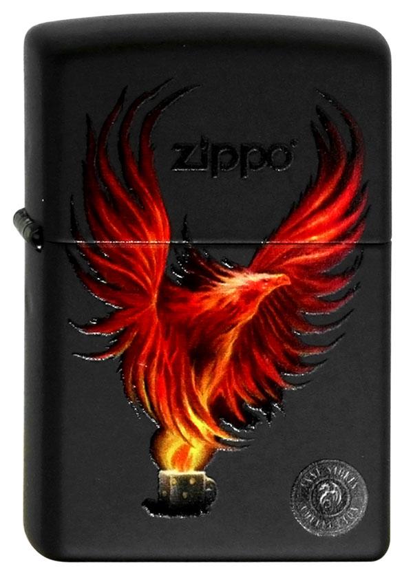 ヨーロッパ直輸入Zippo ジッポー Anne Stokes Fire Eagle 60002084