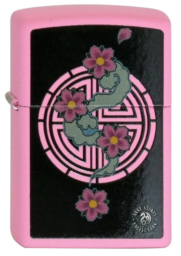 ヨーロッパ直輸入Zippo ジッポー Anne Stokes Flower 60002082