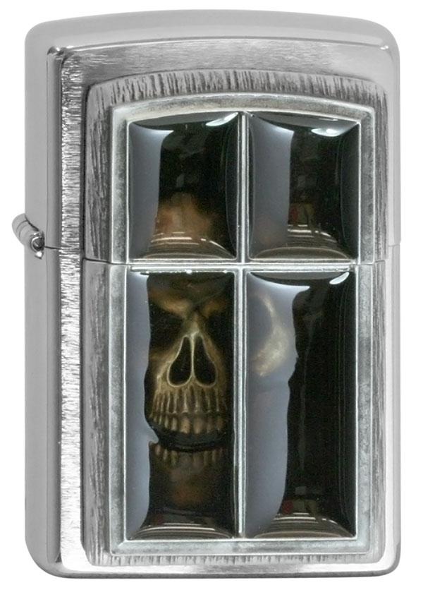 ヨーロッパ直輸入Zippo ジッポー Anne Stokes Window Skull 2005065