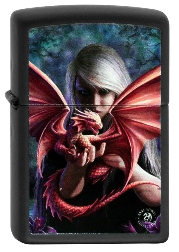 ヨーロッパ直輸入Zippo ジッポー Anne Stokes Dragon 60001009