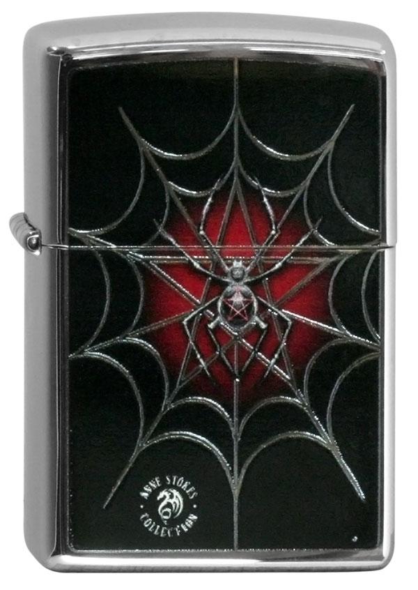 ヨーロッパ直輸入Zippo ジッポー Anne Stokes Spiderweb 60000602