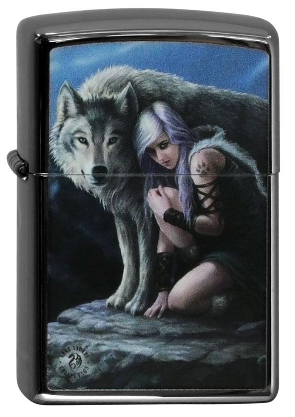 ヨーロッパ直輸入Zippo ジッポー Anne Stokes Wolves 60000336