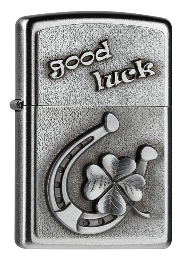 ヨーロッパ直輸入Zippo ジッポー Good Luck Horse Shoe 2004513