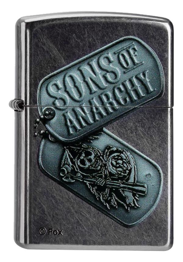 ヨーロッパ直輸入Zippo ジッポー Sons of Anarchy  60000098