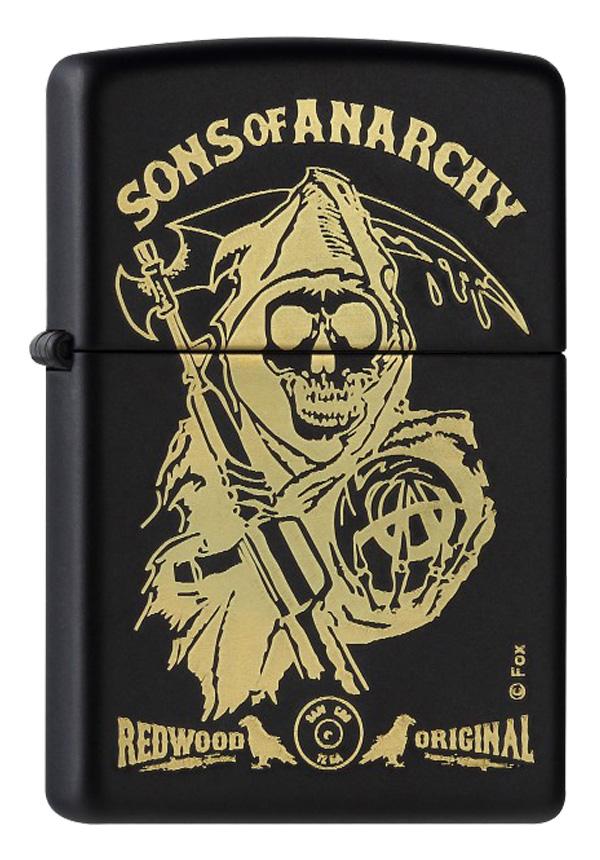 ヨーロッパ直輸入Zippo ジッポー Sons of Anarchy  60001374