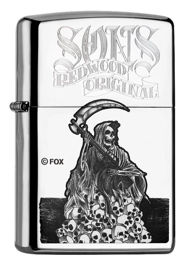 ヨーロッパ直輸入Zippo ジッポー Sons of Anarchy  60000712