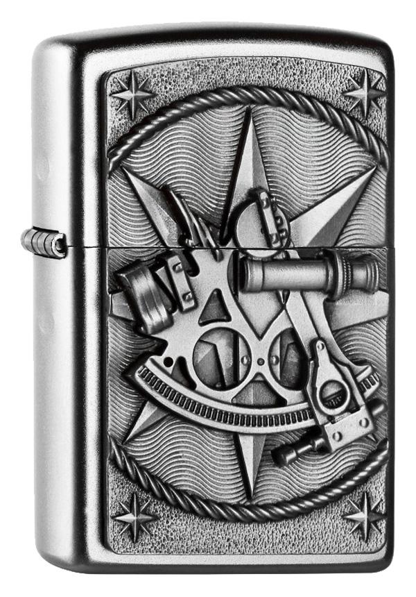 ヨーロッパ直輸入Zippo ジッポー Sextant Emblem 2004654
