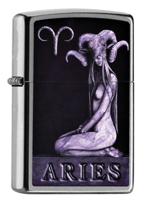 ヨーロッパ直輸入Zippo ジッポー Zodiac Aries 牡羊座 60000978