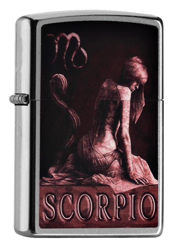 ヨーロッパ直輸入Zippo ジッポー Zodiac Scorpio 蠍座 60000929