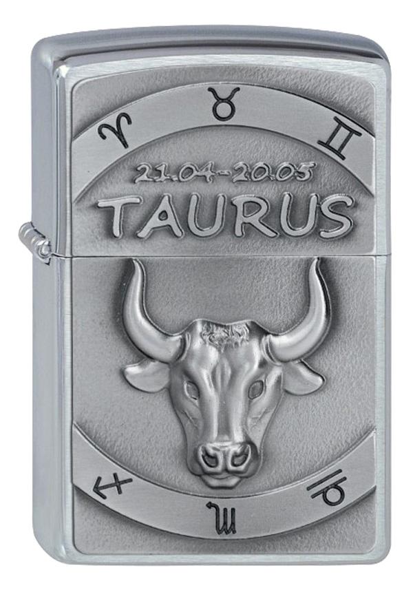 ヨーロッパ直輸入Zippo ジッポー Zodiac Taurus 牡牛座 2002073