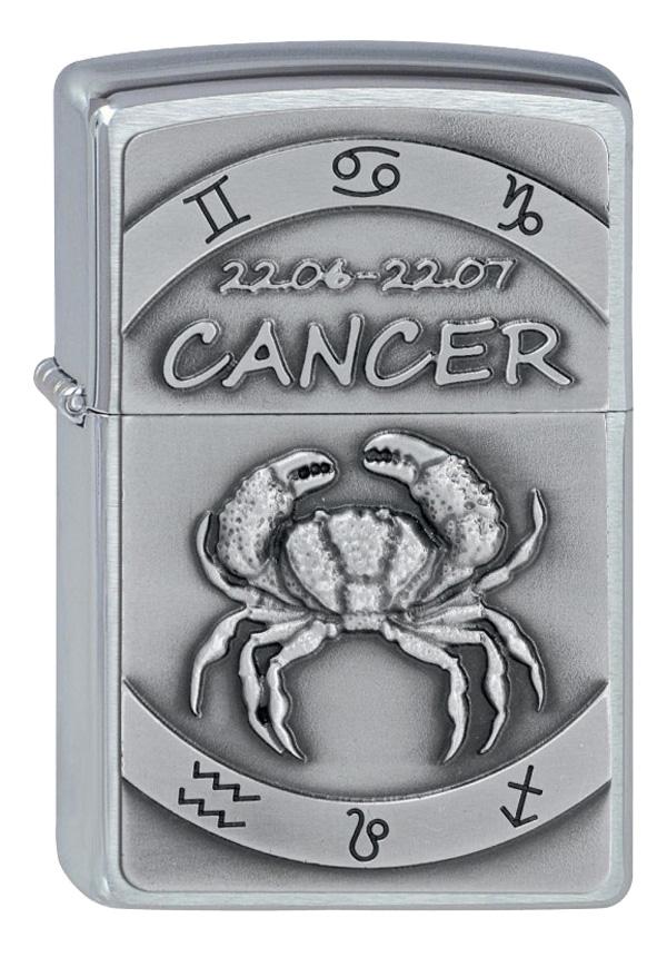 ヨーロッパ直輸入Zippo ジッポー Zodiac Cancer 蟹座 2002075