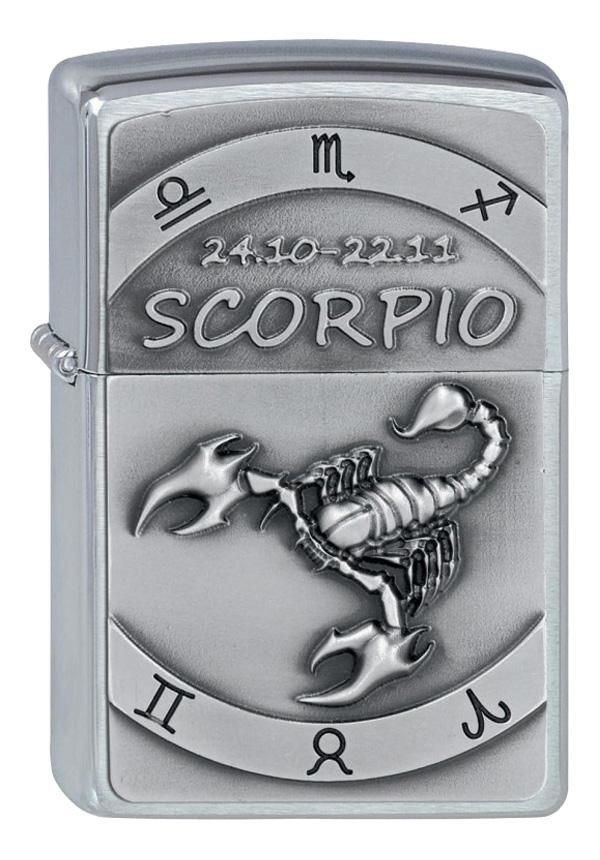 ヨーロッパ直輸入Zippo ジッポー Zodiac Scorpio 蠍座 2002079