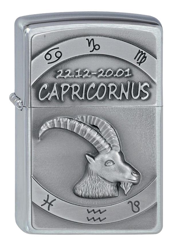 ヨーロッパ直輸入Zippo ジッポー Zodiac Capricorn 山羊座 2002081
