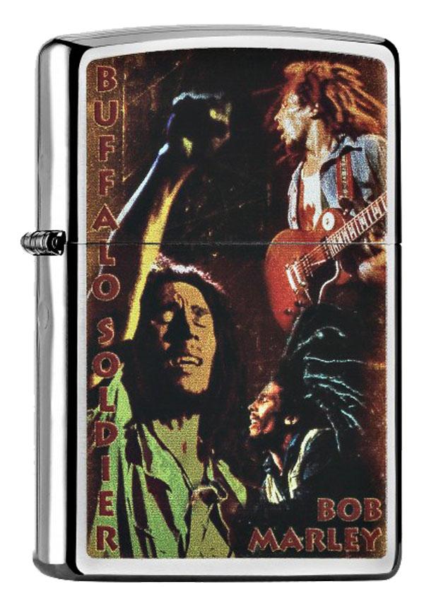 ヨーロッパ直輸入Zippo ジッポー Bob Marley 60000896