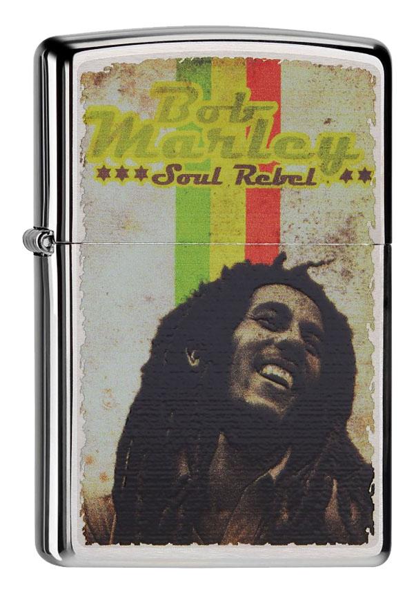 ヨーロッパ直輸入Zippo ジッポー Bob Marley 60001391