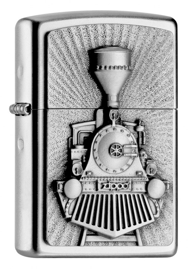 ヨーロッパ直輸入Zippo ジッポー Steam Train Emblem 2004732 メール便可
