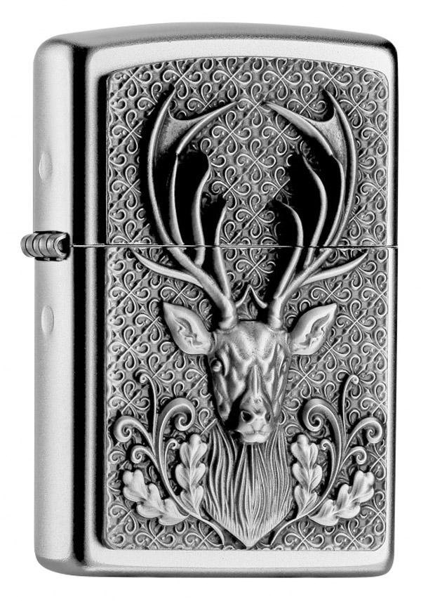 ヨーロッパ直輸入Zippo ジッポー Deer Head Hirsch Emblem 2004736