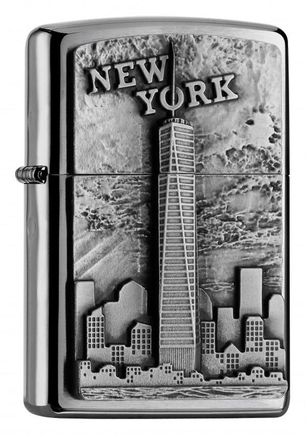 ヨーロッパ直輸入Zippo ジッポー New York Emblem 2004740