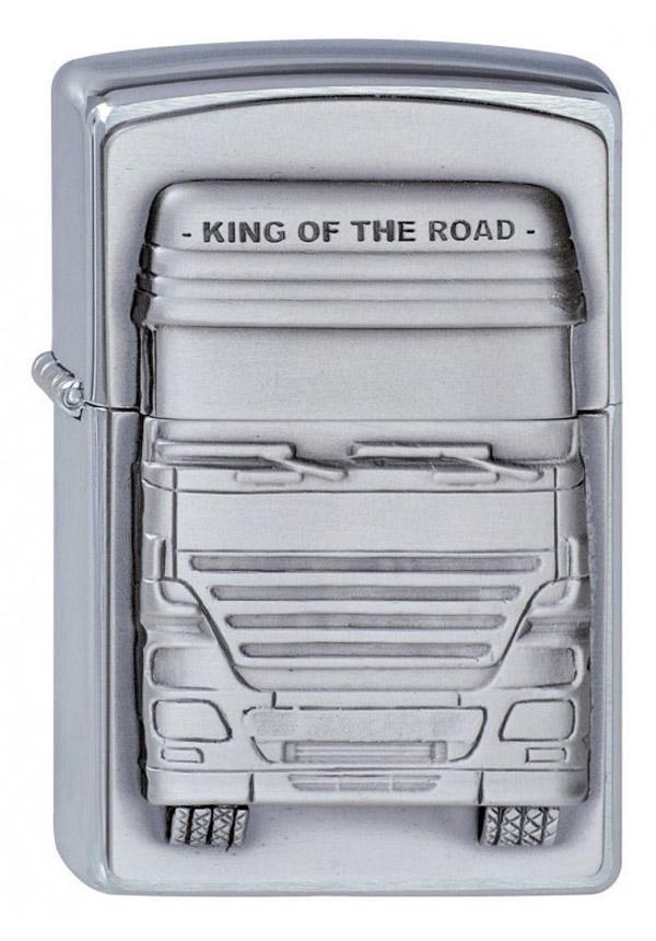 ヨーロッパ直輸入Zippo ジッポー King of the Road 1300176