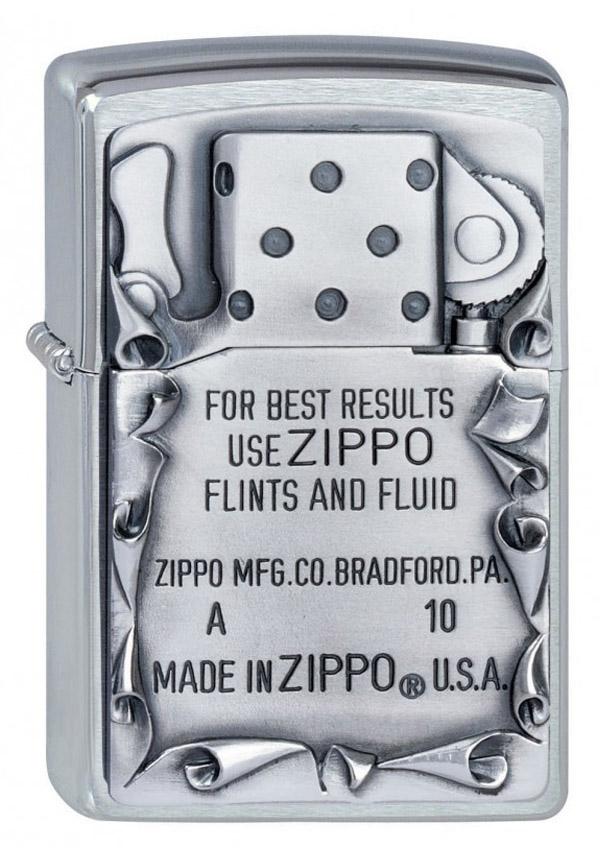 ヨーロッパ直輸入Zippo ジッポー Use Zippo Emblem 2001660