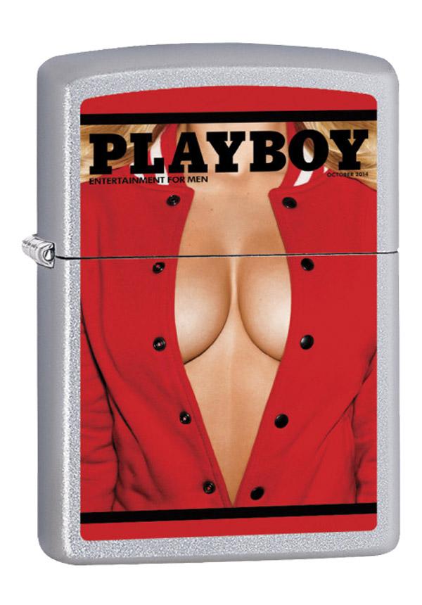 ヨーロッパ直輸入Zippo ジッポー Playboy october 2014 60003228 メール便可
