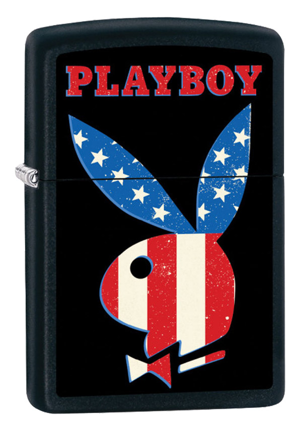 ヨーロッパ直輸入Zippo ジッポー Playboy 218BK 60002685