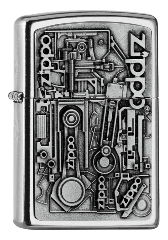 ヨーロッパ直輸入Zippo ジッポー MOTOR PARTS Emblem 3D 2006539 メール便可