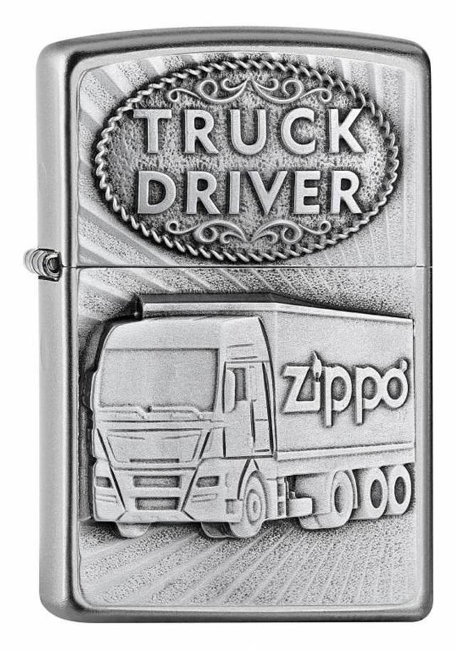 ヨーロッパ直輸入Zippo ジッポー TRUCK DRIVER 2005895 メール便可