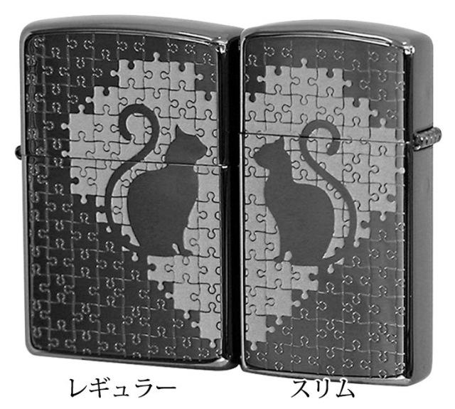 Zippo ジッポー キャットパズルペア BK(1201S469)
