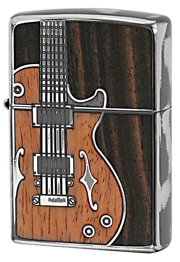 Zippo ジッポー アンティークギター SV(1201S442) メール便可