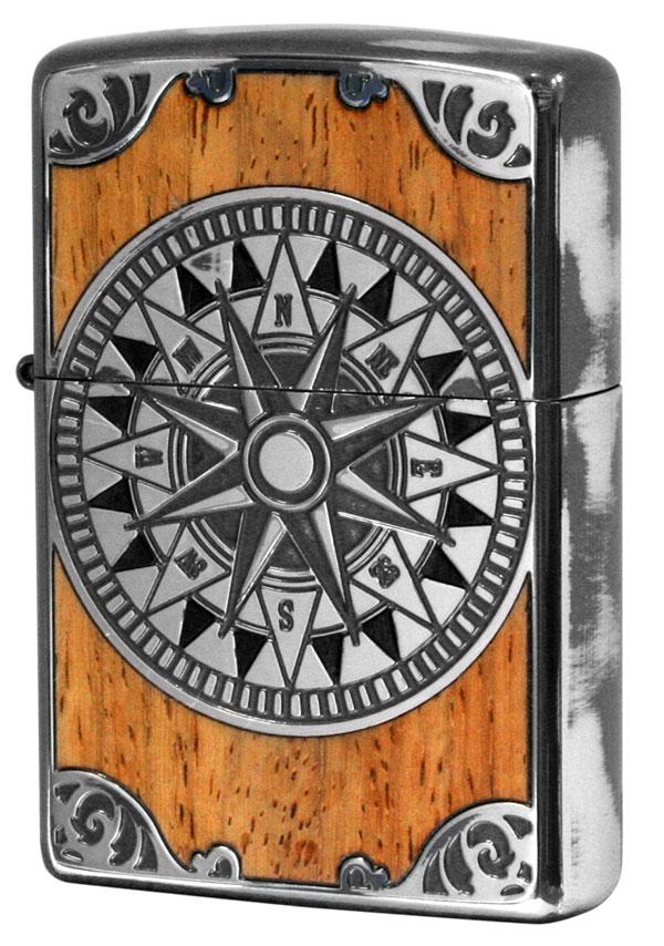 Zippo ジッポー アンティークコンパス Antique Compass SV 1201S558