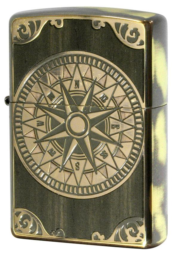 Zippo ジッポー アンティークコンパス Antique Compass BS 1201S559