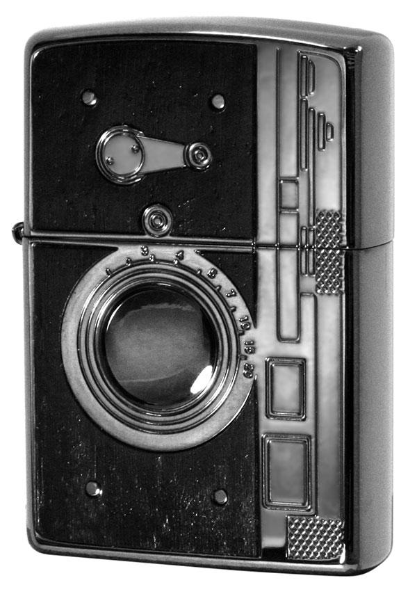 Zippo ジッポー アンティークSLRカメラ Antique Camera BK 1201S564