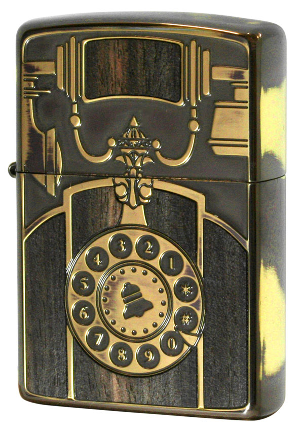Zippo ジッポー アンティークテレフォン Antique Telephone  BS 1201S561