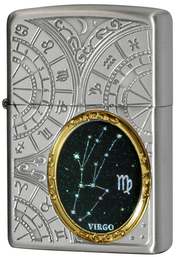 Zippo ジッポー 12星座メタル Constellation Metal 乙女座 1201S525