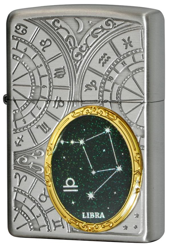 Zippo ジッポー 12星座メタル Constellation Metal 天秤座 1201S526