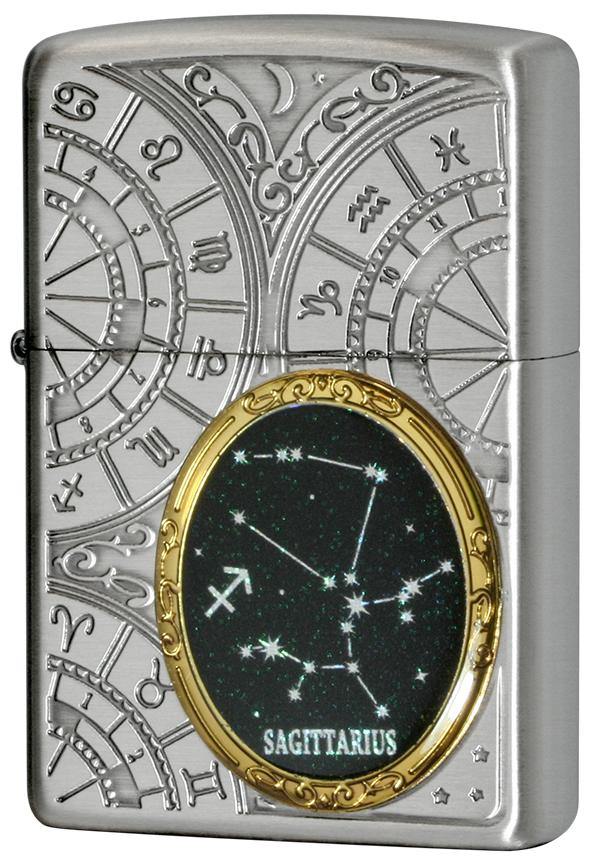 Zippo ジッポー 12星座メタル Constellation Metal 射手座 1201S528