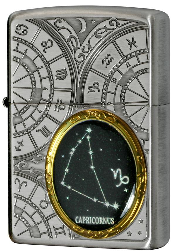 Zippo ジッポー 12星座メタル Constellation Metal 山羊座 1201S529