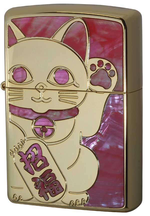 Zippo ジッポー SHELL LUCKY CAT シェル ラッキーキャット 1201S688 YGD