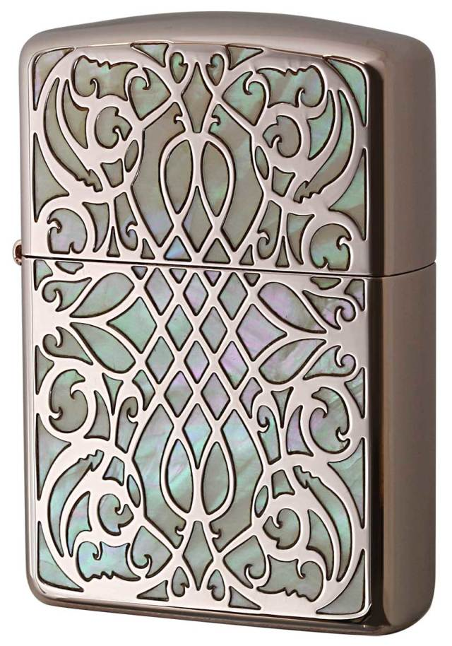 Zippo ジッポー Armor Shell Arabesque PKG 1201S698