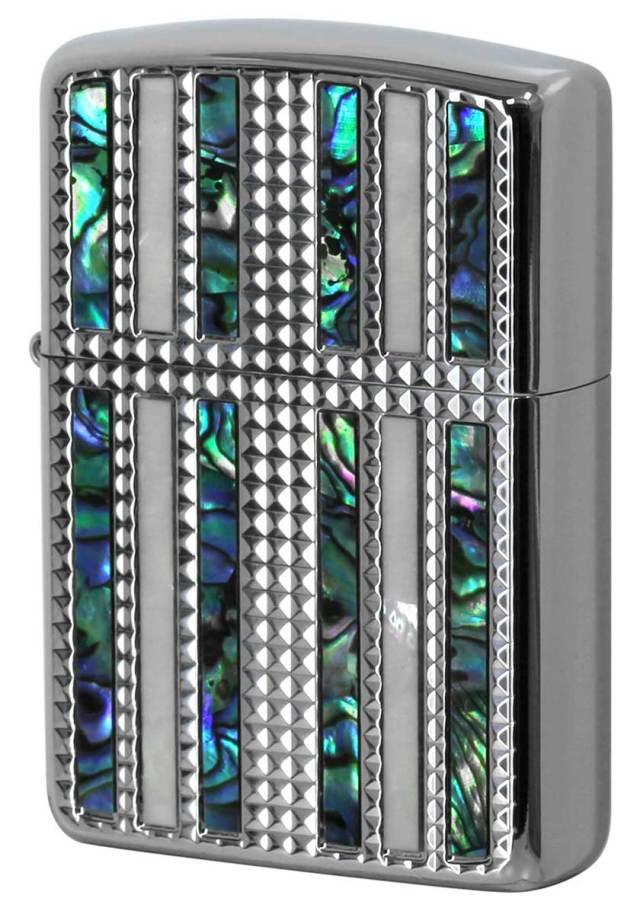 Zippo ジッポー ARMOR アーマー SHELL DC LINE シェルダイアモンドカットライン SV 1201S729
