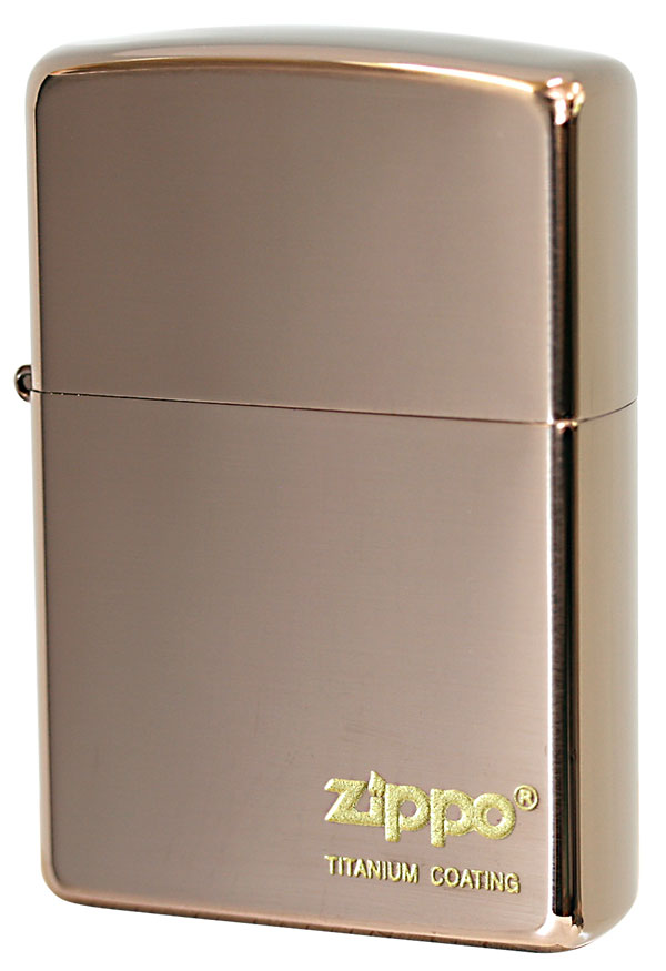 Zippo ジッポー Titanium Coating THG(ブラウン) メール便可