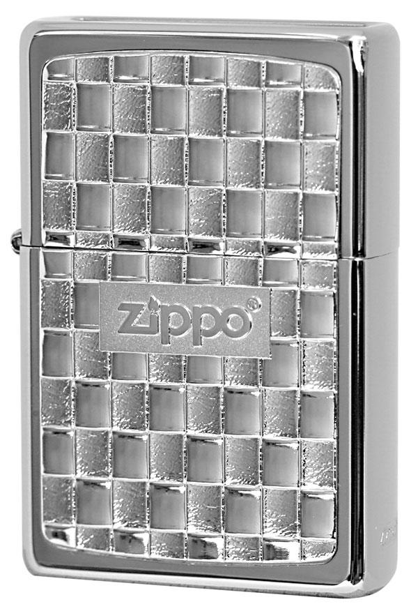 Zippo ジッポー BottomzUp #382 銀チタン 15-1